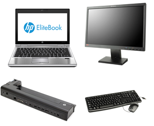 HP EliteBook 2570p Kontorpakke
